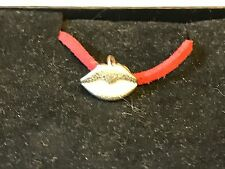 """Lips TG195 English Pewter On 18"""" Red Cord Necklace"""