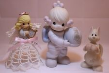 Precious Moments Figurine Lot of 3: #BC931, #113639, & #C0012
