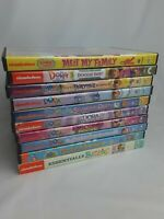 Lot of 10 Nickelodeon Favorites Toons DVDs: Dora the Explorer & Yo Gabba Gabba!