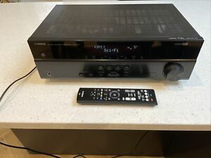 Yamaha HTR-2071 4K NATURAL SOUND AV RECEIVER Amp Excellent Condition Remote POST