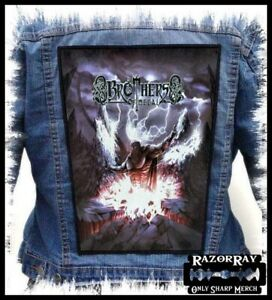 BROTHERS OF METAL --- Backpatch Back Patch Orden Ogan Gloryhammer Beast in Black