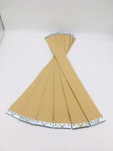 PIRELLI WEBBING REPLACEMENT STRAPS FOR ERCOL FURNITURE BEIGE WITH FITTED CLIPS