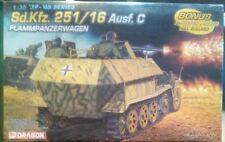 1:35 scale flammpanzerwagon Sd.kfz. 251 / 16 Ausf .C