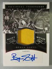 *16/35* 2014-15 National Treasures Night Moves Jersey AUTO #NMBS Byron Scott