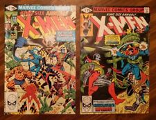 X-MEN ANNUAL 4 and 5 1980 MARVEL CLAIRMONT WHITE PAPER