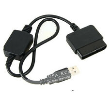 USB PS2 to PS3 Game Controller Adaptor Converter cable For Sony PlayStation 2 3
