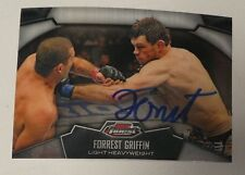 Forrest Griffin Signed UFC 2012 Topps Finest Card #71 Autograph 59 62 76 86 148