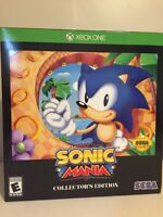 SONIC MANIA COLLECTOR'S EDITION XBOX ONE 1 New In Box Sealed