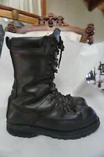 Matterhorn Work Combat Military Boots Mens 10 M Black Leather Steel Toe USA