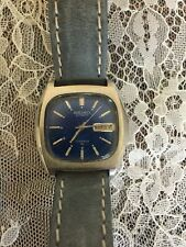 1973 Seiko 7006 5019, Automatic, 17J, Midnight Blue Dial--Runs Strong!