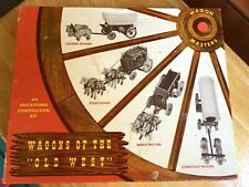 """Wagons of the """"Old West"""" model kit. As shown in box. Model: Ranch Wagon"""