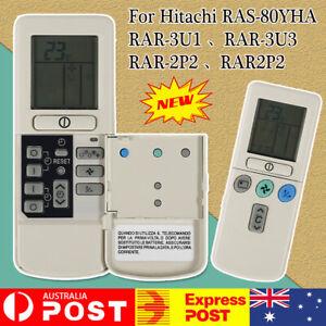 For Hitachi Air Conditioner Remote Control RAR-3U1, RAR-3U3, RAR-2P2, RAS-80YHA