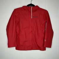 Columbia Boy's Youth OmniTech Water Proof Rain Jacket Red Size Small 8