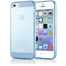 NALIA Handy Hülle für iPhone 5 5S SE, Slim Silikon Cover Case Schutzhülle Bumper