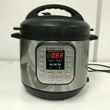 Instant Pot Duo V2 7 in 1 Electric Pressure Cooker - WORKING READ RRP £87 T13