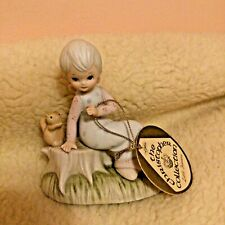Vintage 1982 Lefton Christopher Collection Good Friends Figurine Tag Twp03458