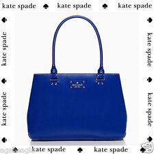 Kate Spade Bag WKRU1430 Elena Wellesley Dark Cobalt  Handbag Agsbeagle