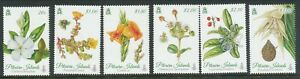 PITCAIRN ISLANDS 2014 BOTANICA FLOWERS SET MNH BIN PRICE GB£5.00