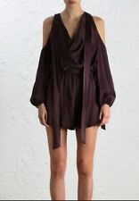 Zimmermann Women's 100% Silk Jumpsuits, Rompers & Playsuits