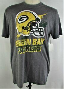 Green Bay Packers NFL Men's G-III Gray Short Sleeve T-Shirt