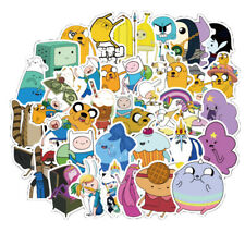 50pcs Stickers Adventure Time Car Laptop Helmet Luggage Outdoor Skateboard Vinyl