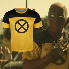 Deadpool 2 T-Shirts Cosplay Deadpool X-Men Superhero Cool Sport 3D T-Shirts New