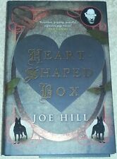 Joe Hill SIGNED Heart-Shaped Box UK hardcover 1st Edn + doodle