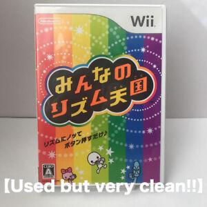 Minna no Rhythm Tengoku 〜Rhythm Heaven Fever Rhythm Paradise〜 Nintendo Wii Japan