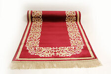 TAPPETO Rosso alfiere Rayon Mäander Meander Medusa Carpet 67x300cm Rug versac