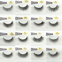 20 Styles 3D Mink Natural Thick False Fake Eyelashes Eye Lashes Makeup Extension