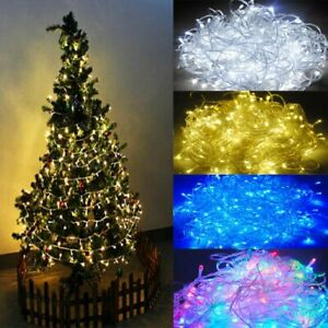 2/3/10/20/30/100 Meter LED String Fairy Lights Christmas Tree Xmas Party Wedding