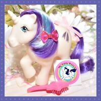 ❤️My Little Pony G1 Vtg 1983 GLORY Unicorn & Original Brush Shooting Star❤️