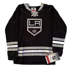 NHL Apparel Kids Unisex Los Angeles Kings Long Sleeve Black Sweatshirt Size L-7
