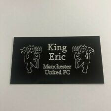 Eric Cantona - Engraved Plaque for Signed Manchester United Memorabilia Frame