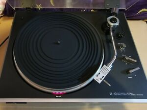 Working JVC QL A2 Direct Drive Record Player Turntable with Lid & Manual