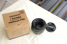 YONGNUO 35mm f/2 Wide-angle Auto Focus Lens For Nikon DSLR Camera