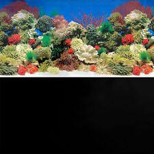 Superfish Poster 1 Coral Reef Seascape Black Aquarium Background Fish Tank