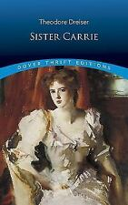 SISTER CARRIE a novel by Theodore Dreiser FREE SHIPPING classic paperback book
