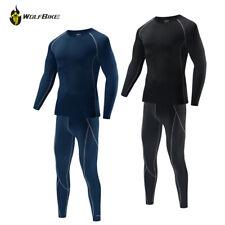Men Compression Elasticity Base Layer Tights Shirt Pant Under Full Suit Skin Fit