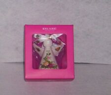 Royal Albert Old Country Roses Angel Ornament New In Box