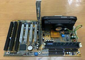 Intel Pentium II Processor / Gigabyte GA-6BXC ATX Motherboard / S3 Trio Bundle