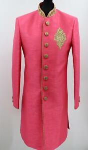 Men's Sherwani Kurta Art Silk Man's Wedding Dress - Size -36