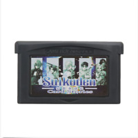 Nintendo GBA Video Game Console Card Cartridge Suikoden Card Stories