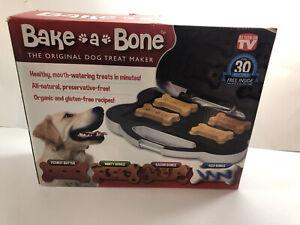NEW BAKE A BONE ORIGINAL DOG TREAT MAKER as SEEN ON TV HOMEMADE PUPPY SNACKS