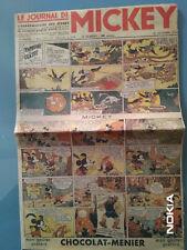 RARISSIME N° 1 ORIGINAL du JOURNAL DE MICKEY 21/10/1934 -  87ans d'age!!!