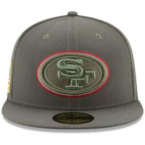 San Francisco 49Ers~NFL~New Era~59FIFTY~On-Field Headwear~Salute to Service