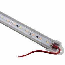 Bright 72LED SMD5630 12V 18W 6000k White Light U-Shape Light Bar w/Cover