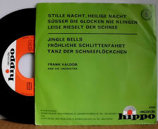 "FRANK VALDOR AND HIS ORCHESTRA STILLE NACHT / JINGLE BELLS 7 "" SINGLE"