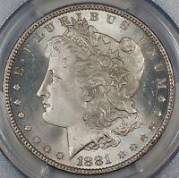 1881-O Morgan Silver Dollar $1, PCGS Genuine (GEM BU)