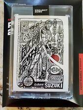 TOPPS PROJECT 2020 CARD #32 - 2001 TOPPS ICHIRO SUZUKI JK5 IN HAND PR 1798 W/BOX